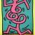 1983, Keith Haring : Jazz