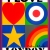 2009, Peter Blake : I love London