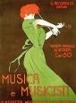 1914, Leonetto Cappiello : Musica e Musicisti