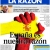 2012 : La Razón -  journal de droite, nationaliste, royaliste et catholique que l'on peut qualifier de néofranquiste