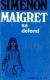 1967, Maigret se défend