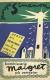 1952, Les vacances de Maigret - suédois, illustration Olle Eksell