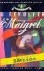 1953, O revólver de Maigret - portuguais, illustration Cândido Costa Pinto
